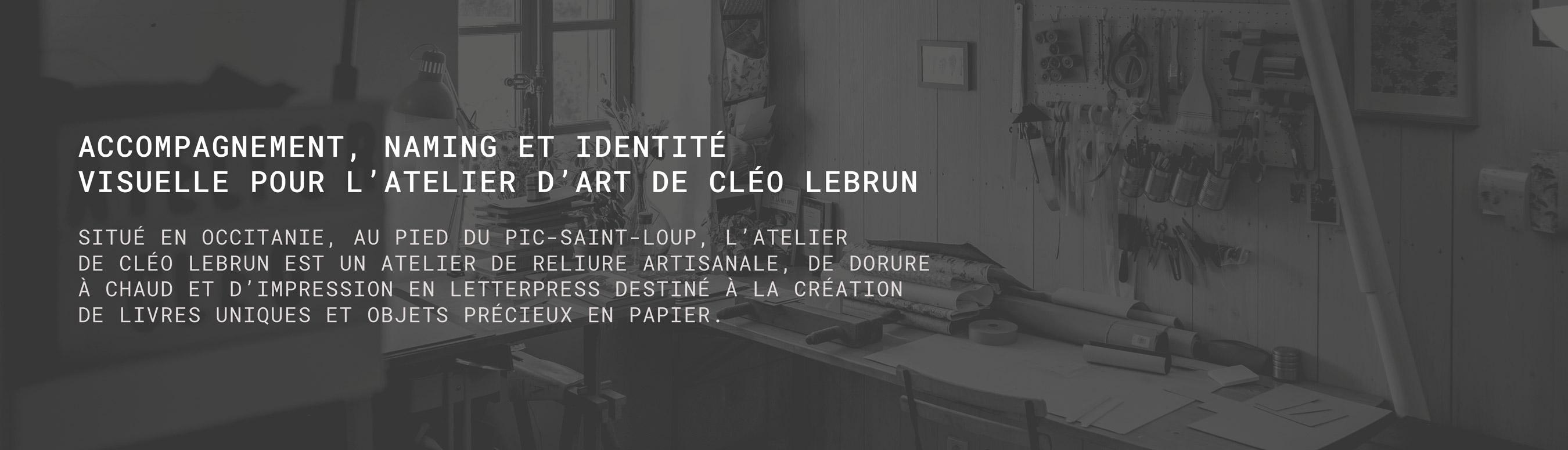Atelier d'art Cléo Lebrun 1
