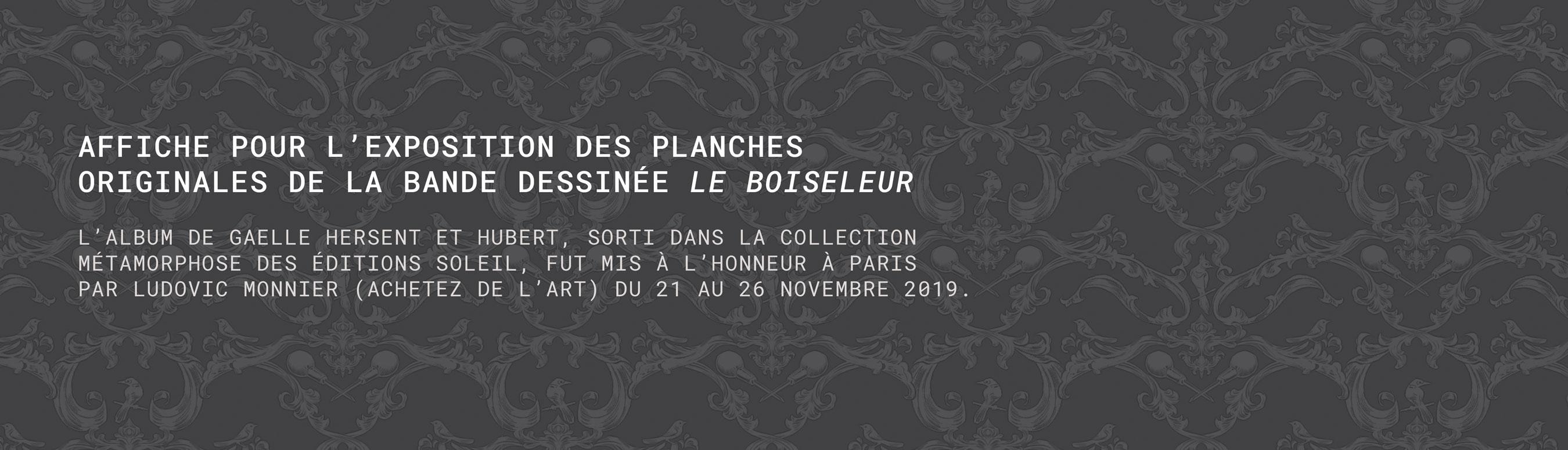 Affiche exposition Le Boiseleur 1