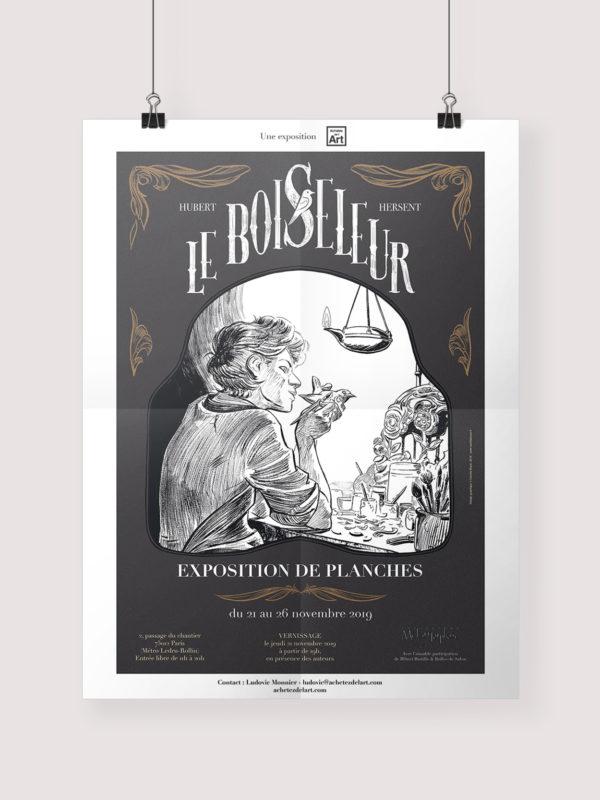 Miniature affiche exposition Le Boiseleur