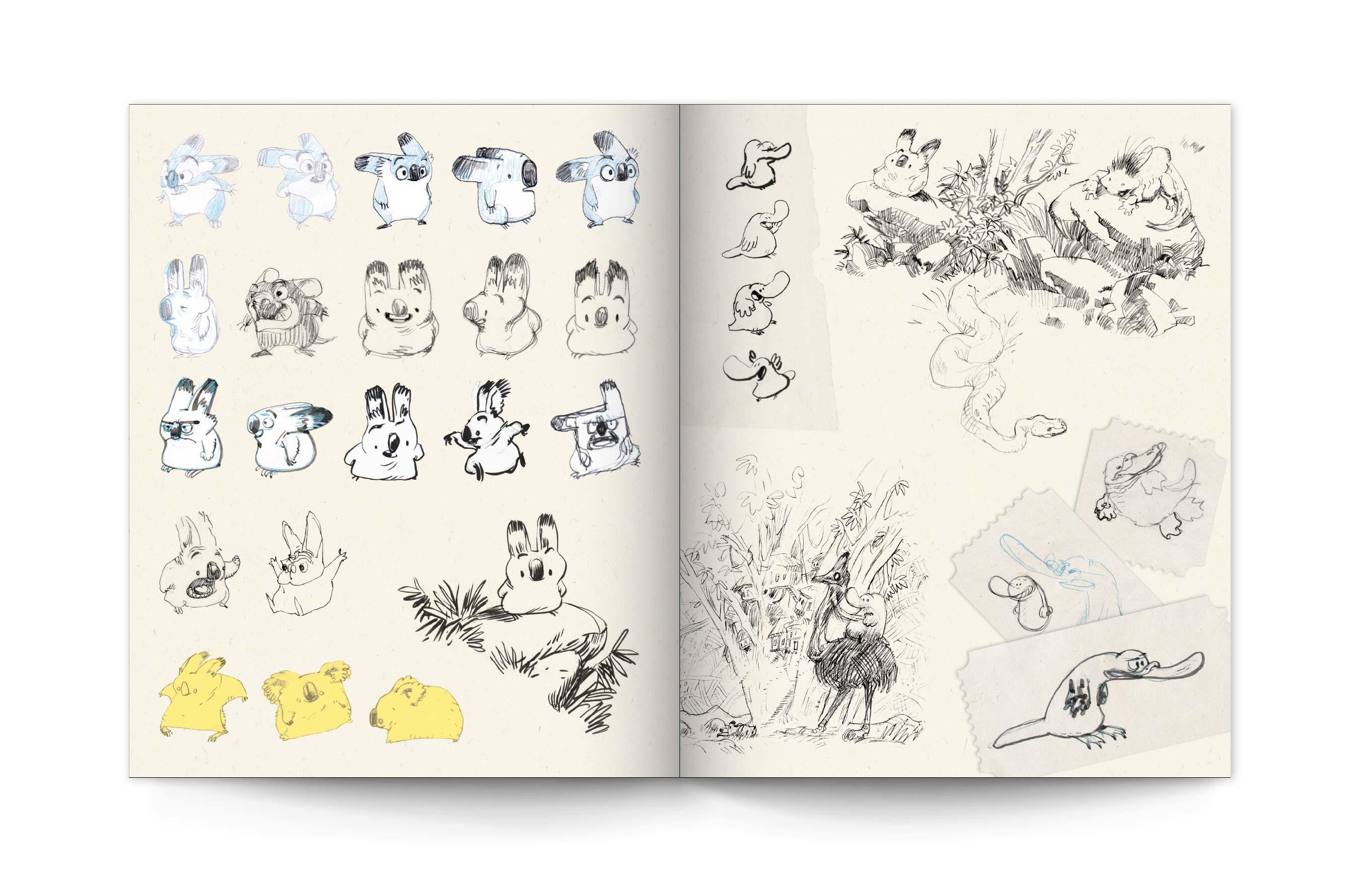 Sketchbook Yoann 3