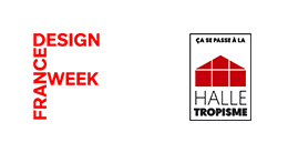 Logo France Design Week et Halle Tropisme